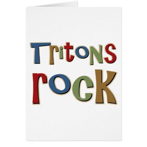 Tritons Rock Greeting Card