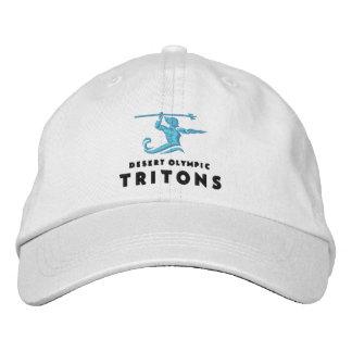 Triton's White Adjustable Hat
