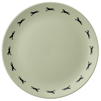 Tritty Trotter Dinner Plate