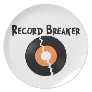 Triturador de registro platos