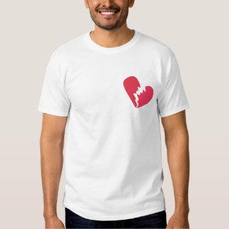 Triturador del corazón camisas