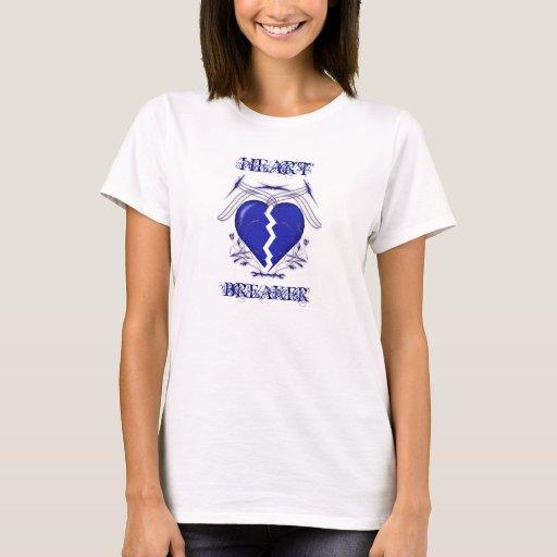 Triturador del corazón: Camiseta blanca de las