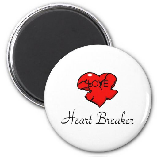 Triturador del corazón imán redondo 5 cm
