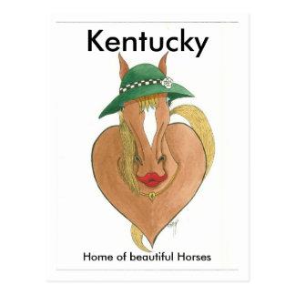 triturador del corazón, Kentucky, hogar de Postales