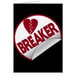 Triturador del corazón tarjeta