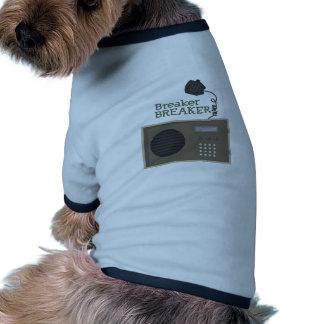 Triturador del triturador camisas de mascota