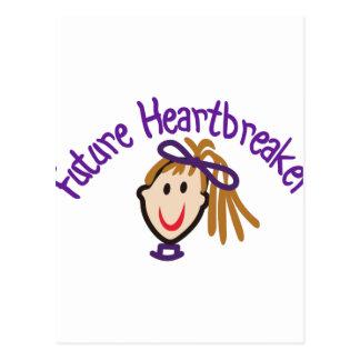 Triturador futuro del corazón postal