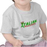Triturador italiano del corazón camiseta