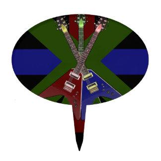 Trituradora de la guitarra del vuelo V Decoración Para Tarta
