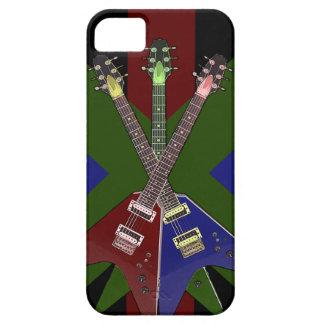 Trituradora de la guitarra del vuelo V Funda Para iPhone 5 Barely There