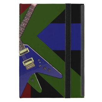 Trituradora de la guitarra del vuelo V iPad Mini Protector