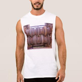 Trituradora de la prisión del castillo de camiseta sin mangas