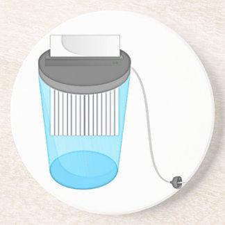 Trituradora de papel posavaso para bebida