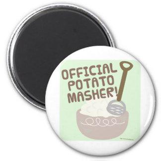 Trituradora oficial de la patata imán