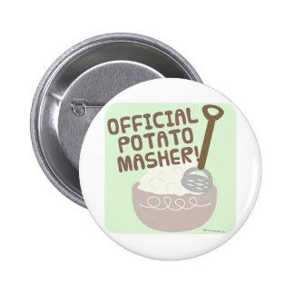 Trituradora oficial de la patata pin redondo de 2 pulgadas