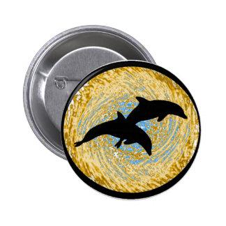 Trituradores de la orilla del delfín pins