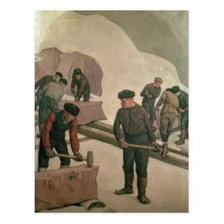 Trituradores de piedra, 1903 tarjeta postal