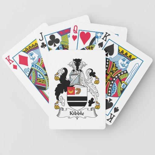 Trituraron el escudo de la familia cartas de juego