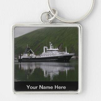 Triumph americano, barco rastreador de fábrica llavero personalizado
