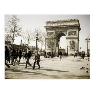 Triumph Arch Paris Postcard