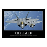 Triumph:: Cita inspirada 2 Posters