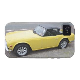 Triumph clásico TR6 Sportscar iPhone 4 Carcasa