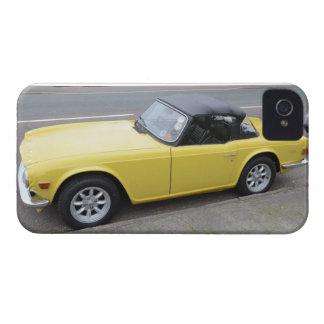 Triumph clásico TR6 Sportscar iPhone 4 Case-Mate Fundas