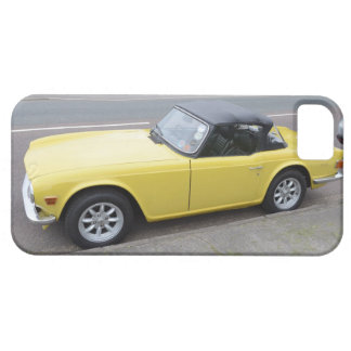 Triumph clásico TR6 Sportscar iPhone 5 Coberturas