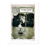 Triumph completa un ciclo no. 1907 Standard de Tarjetas Postales