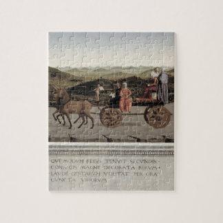 Triumph de Battista Sforza, duquesa de Urbino. Pal Puzzles