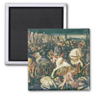 Triumph de David y de Saul, c.1445-55 Imán Cuadrado