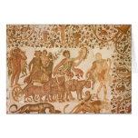 Triumph de Dionysus Tarjeta De Felicitación
