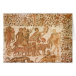 Triumph de Dionysus Tarjeton