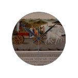 Triumph de Federigo DA Montefeltro, duque de Urbin Reloj Redondo Mediano