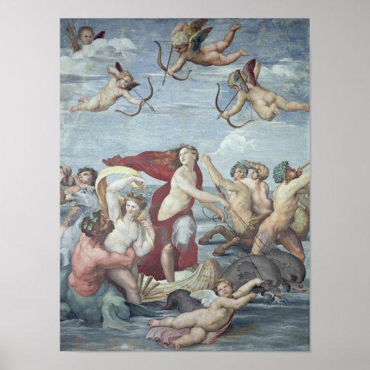 Triumph de Galatea, 1512-14 Póster