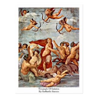 Triumph de Galatea, por Raffaello Sanzio Postales