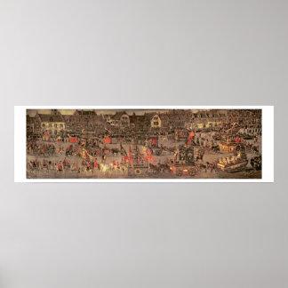 Triumph de la archiduquesa Isabel (1556-1633 Poster