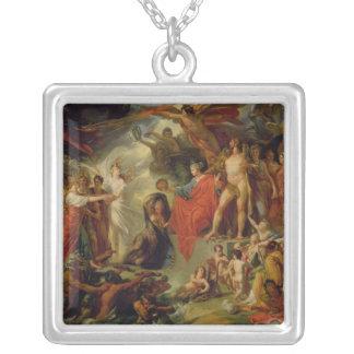 Triumph de la civilización, c.1794-98 colgante