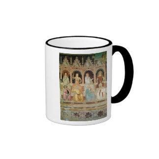 Triumph de la doctrina católica taza de café