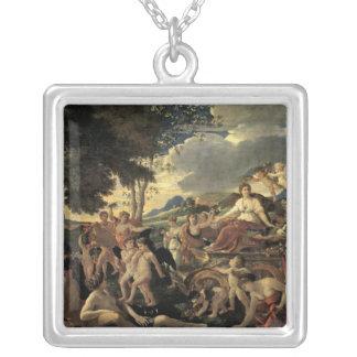 Triumph de la flora, c.1627-28 colgante cuadrado