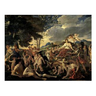 Triumph de la flora, c.1627-28 tarjeta postal