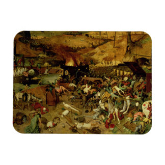 Triumph de la muerte, c.1562 (aceite en el panel) imanes flexibles