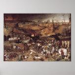 Triumph de la muerte de Peter Bruegel Poster