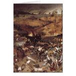 Triumph de la muerte de Peter Bruegel Tarjetón