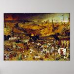Triumph de la muerte de Pieter Bruegel la anciano Impresiones