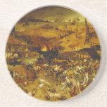 Triumph de la muerte de Pieter Bruegel la anciano Posavasos Diseño