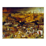Triumph de la muerte de Pieter Bruegel la anciano Postal