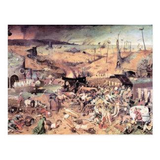 Triumph de la muerte de Pieter Bruegel Tarjetas Postales