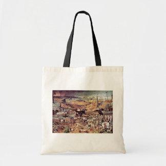 Triumph de la muerte por Bruegel D. Ä. Pieter Bolsas De Mano