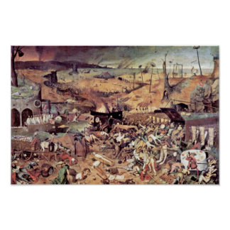 Triumph de la muerte por Bruegel D. Ä. Pieter Poster